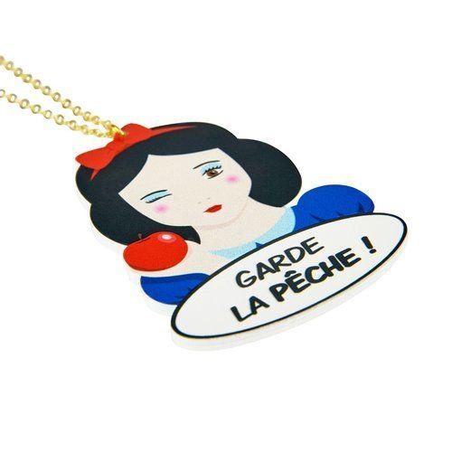"Le collier ""Garde la pêche"" Joyau Magic sur Shopnextdoor.fr ;)"