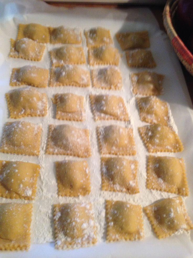 Tortelli di zucca/ pumpkin tortelli
