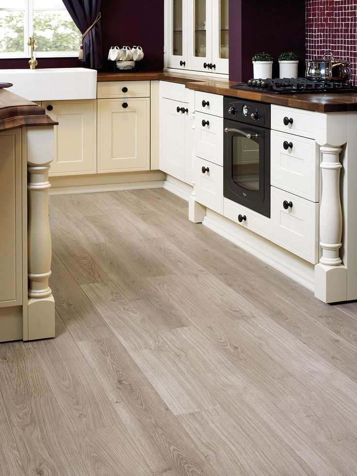 Quick Step Laminate Flooring Perspective Light Grey