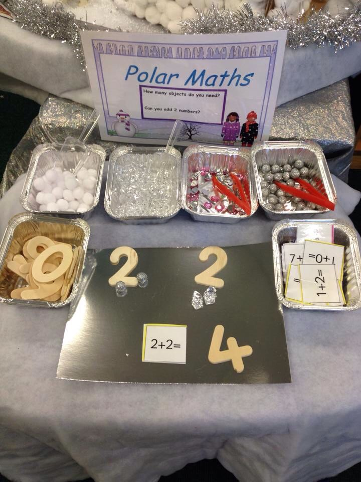 Ellie Louise's polar maths she shared on my Facebook page.