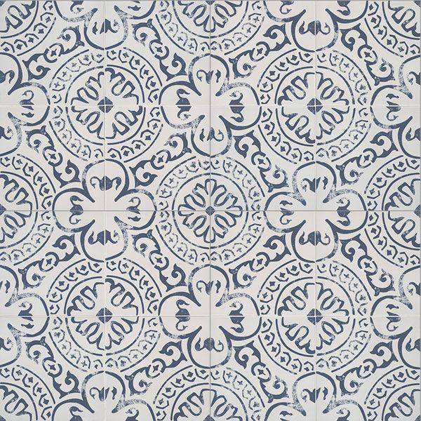 Msi Kenzzi Indigo 8 X 8 Porcelain Tile Patterned Floor Tiles Tile Patterns Porcelain Tile