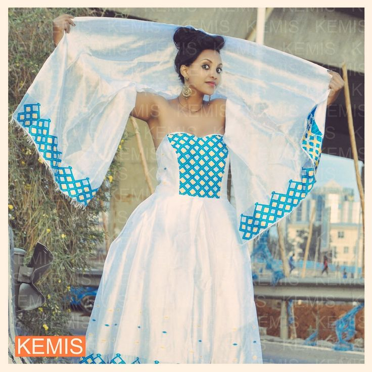 14 best Habesha kemis | Ethiopian traditional wedding dresses ...