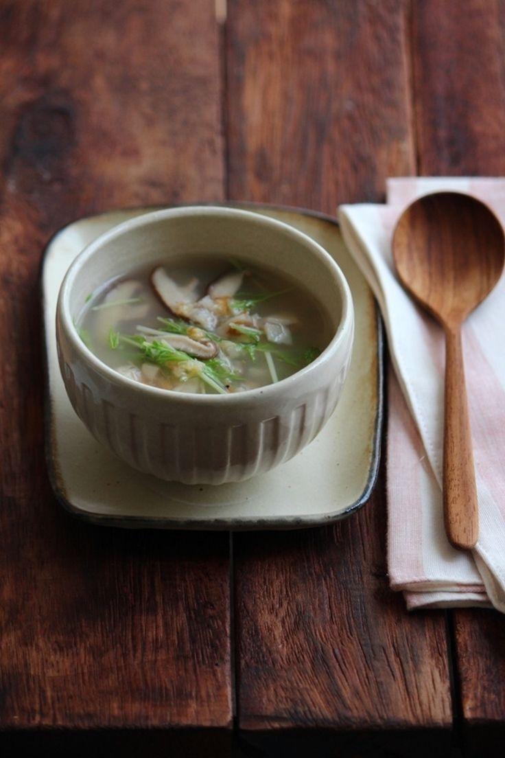 おろしレンコンと桜エビの生姜スープ。 by 栁川かおり | レシピサイト「Nadia | ナディア」プロの料理を無料で検索