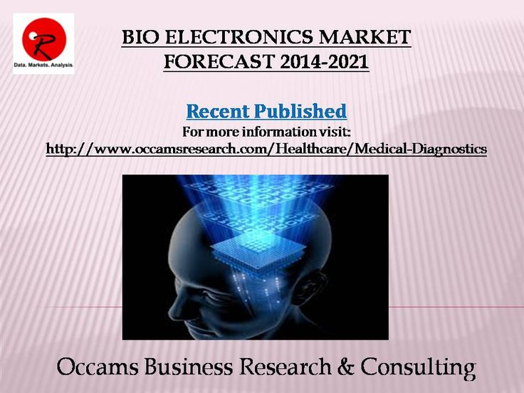 Published New Report Bio Electronics Market Forecast 2014-2021 More Information Visit http://www.occamsresearch.com/table-of-contents/Global-Bio-Electronics-Market-By-Applications--Fabrication-Templates--