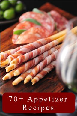 Awesome... 70+ Appetizer Recipes & Party Pleasers..... you'll find a separate list for dips, meatballs, chicken wings, tips for making a cheese board and more–all perfect for entertaining.