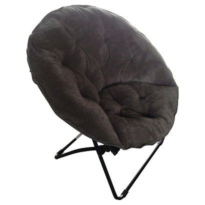 Room Essentials Fuzzy Dish Chair College Dorm Decor