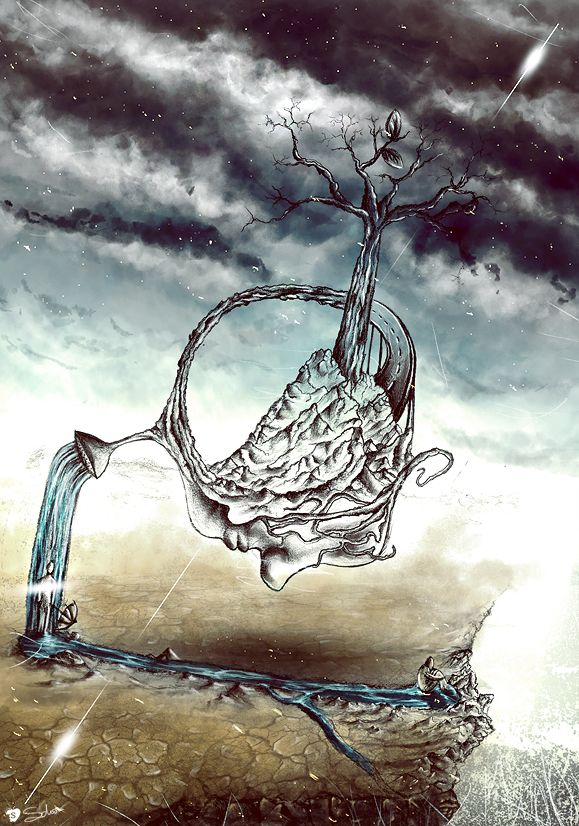 Sadness - Matteo Della Chiesa. https://www.behance.net/matteodellachiesa