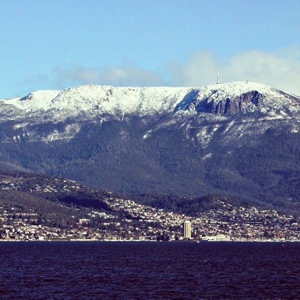 Mt Wellington #Snow #Hobart #Tasmania Article and photo for think-tasmania.com