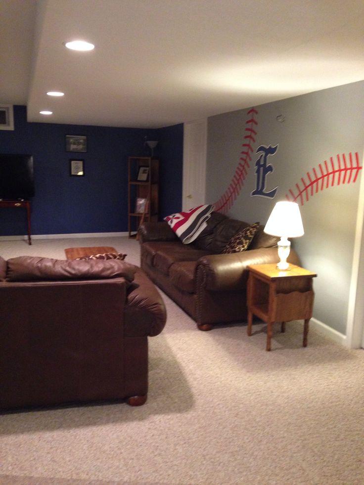 17 Best ideas about Baseball Man Caves on Pinterest