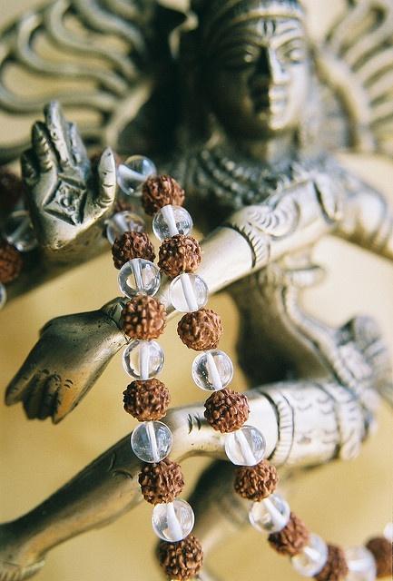 Crystal Rudraksha Dance Shiva