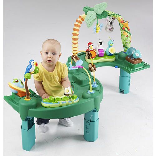 Evenflo Exersaucer Triple Fun Jungle Baby Blanton