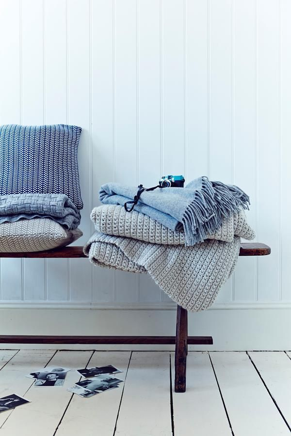 Super soft John Lewis Croft Cushions, and Throws