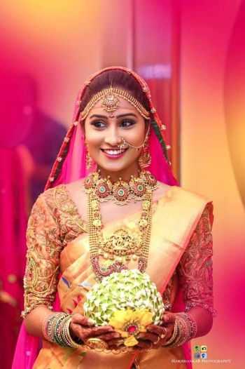 Designer Kobbari bondam for Telugu wedding
