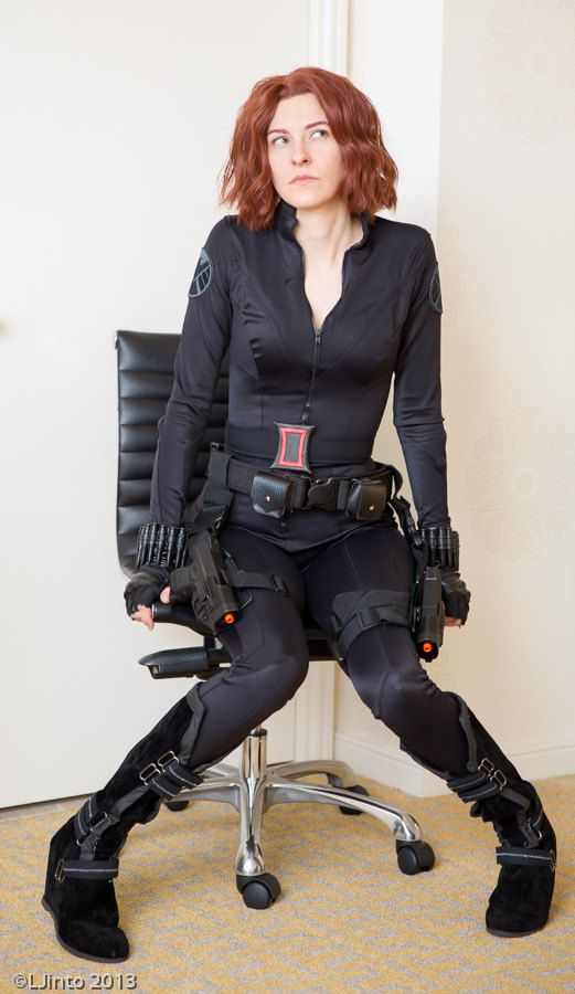 Black Widow Avengers Cosplay Sewing Pattern by ClutzysCloset $17.00