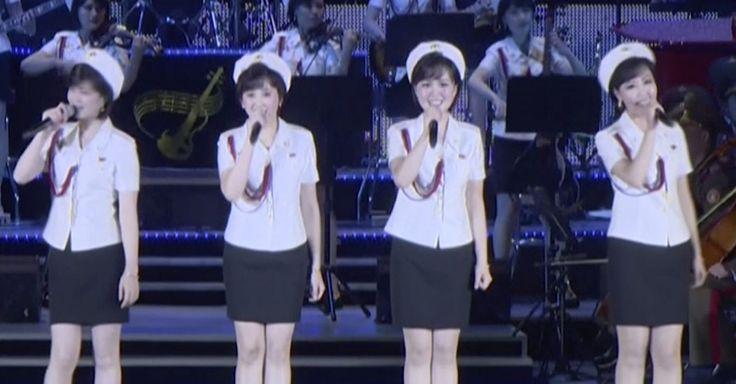 A North Korean girl group helped celebrate Kim Jong-un's latest missile launch - Quartz