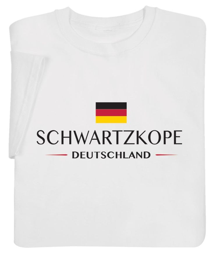 "Personalized ""your Name"" German National Flag Shirt – Hooded Sweatshirt – XL"
