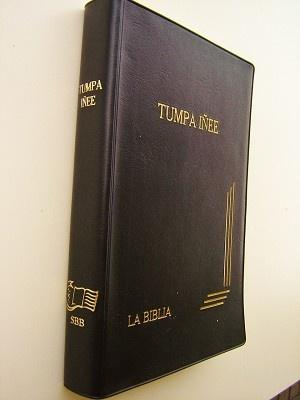 Bible in Guarani Language / Biblia Guarani / Tumpa Inee / La Biblia / Bolivian GUABO062 SBB / Biblia en Guarani de Bolivia / Concordancia Tematica