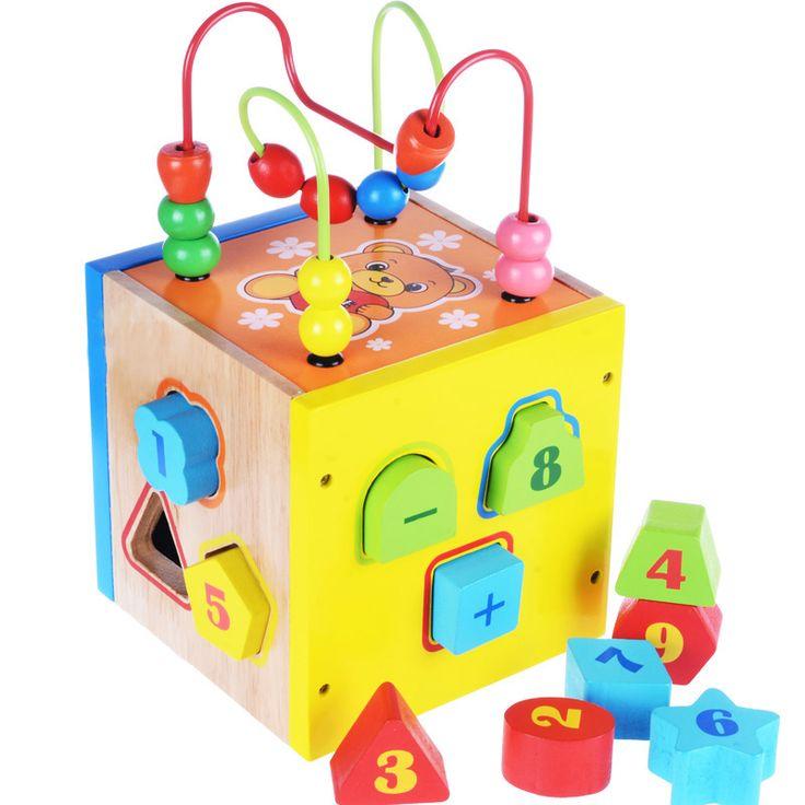 blocks of children's intelligence box shape matching 2-3-4 ...