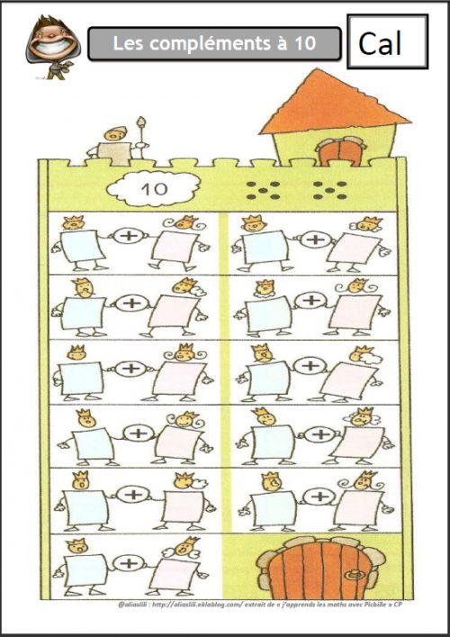 Complements a 10 math matiques pinterest math for Les tables de multiplications ce1
