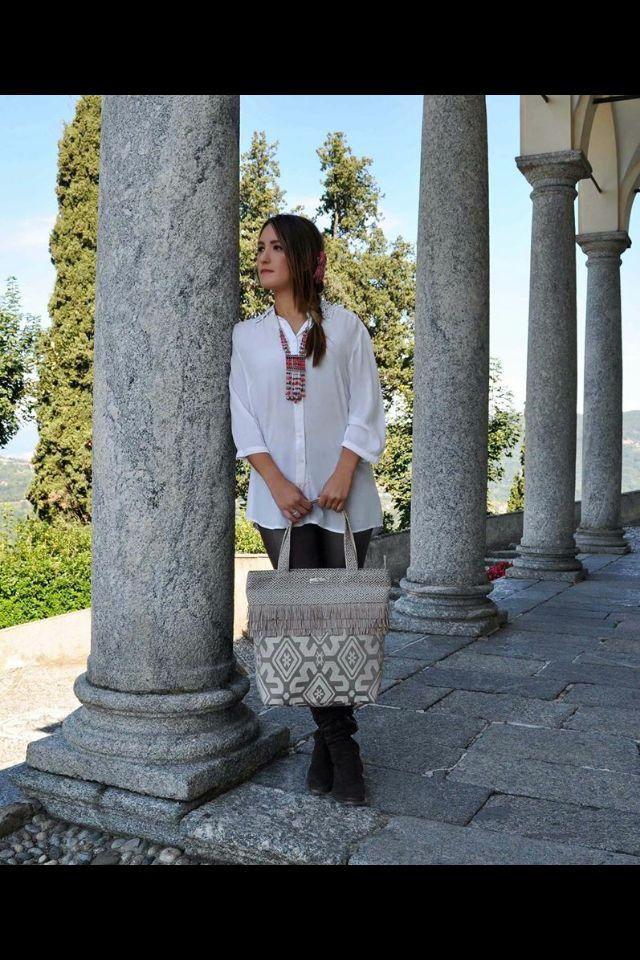 "Shopping bag ""HIPPY"" fw 2015-16"