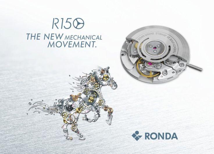 Konkurrenz für ETA – Ronda is back mit dem mechanischen Kaliber Mecano R150