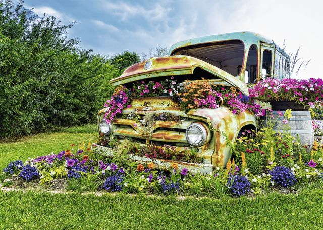 Flower Truck Is A 500 Piece Jigsaw Puzzle By Ravensburger