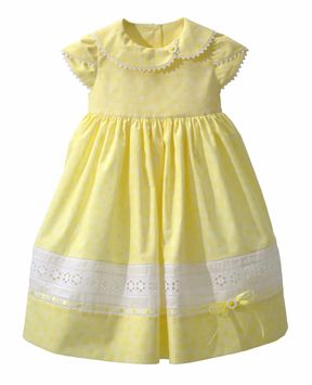 Fantastic free dress pattern from Janome! Perfect for Easter dresses!