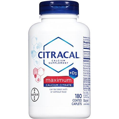 """Citracal Maximum is a daily calcium supplement that provides 630 mg of calcium per serving in the form of calcium citrate, which can be taken with or without food.       Famous Words of Inspiration...""""There are three arts which are concerned with all things: one which uses,... more details at http://supplements.occupationalhealthandsafetyprofessionals.com/vitamins/vitamin-d3/product-review-for-citracal-maximum-caplets-with-vitamin-d3-180-count-bottle-pack"""