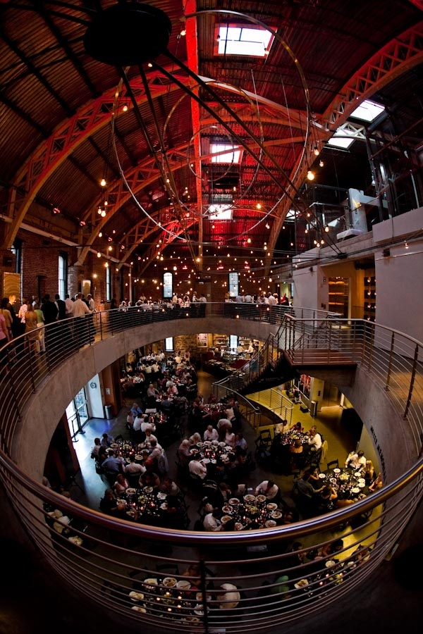 Such An Amazing Venue! Wedding At The Armory. Gorgeous Lighting And Design.