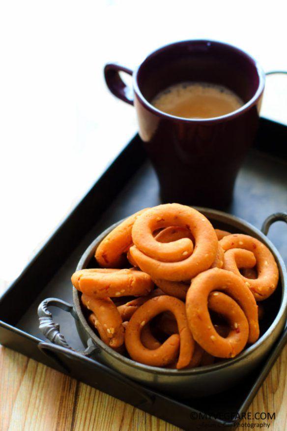 Kodubale/Kodbale - A Delicacy from Karnataka - My Veg Fare