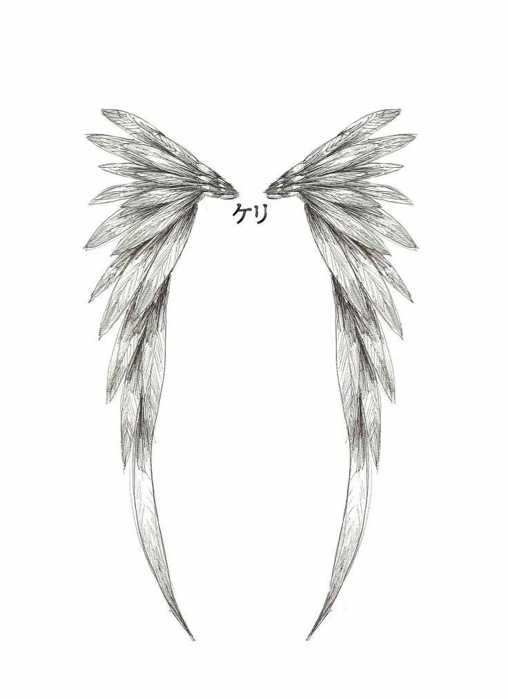 Best 25+ Angel Wing Tattoos Ideas On Pinterest