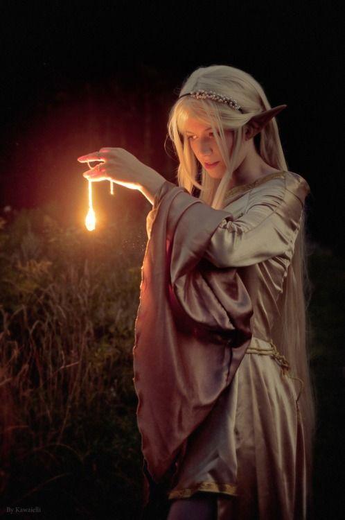 White Elf by KawaiElli