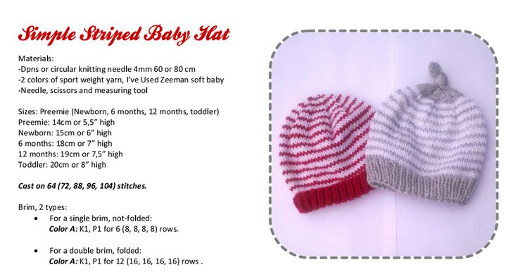 Simple Striped Baby Hat.pdf