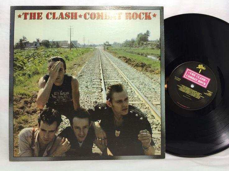 Resultado de imagen para the clash combat rock vinyl