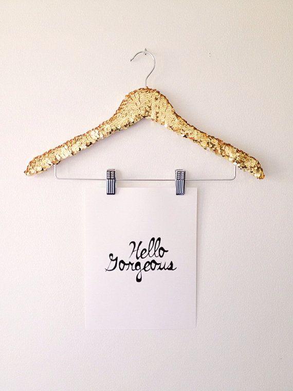 L'ORIGINAL Sequin chemise cintre avec par PearlsandPastries sur Etsy, $18.00