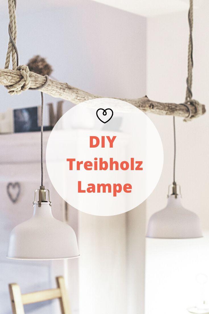 Anleitung: Vintage Treibholzlampe selber bauen   Treibholz