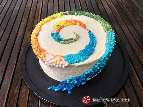 Κρέμα βουτύρου για διακόσμηση κέικ #sintagespareas #kremavoutirou #buttercream