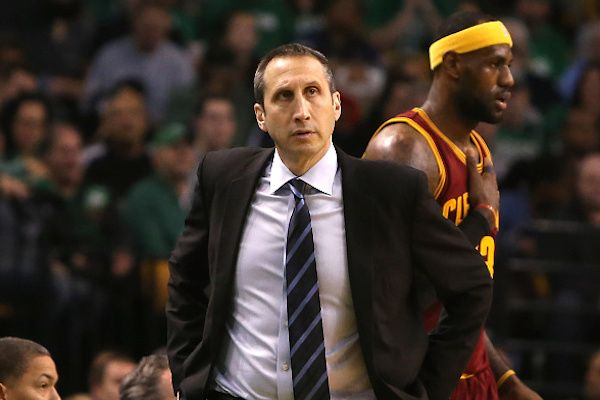 The Cavaliers' David Blatt faces the formidable challenge in the postseason of proving he, not LeBro... - Mike Lawrie/Getty Images