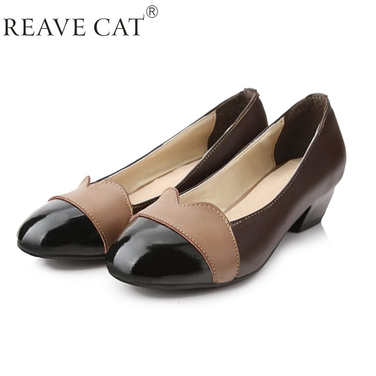 Find More Women's Pumps Information about 2015 Fashion Spring Autumn Round  toe Women low heel shoes