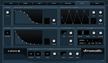 Drumatic 3 by E-Phonic. Some excellent presets, and you can find some other good presets by Googling. Donationware.