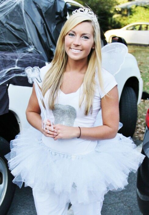 This years tooth fairy costume :) I love being a tooth ...