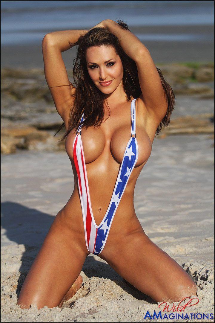 America beach porn woman