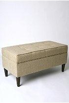 Tweed Storage Bench