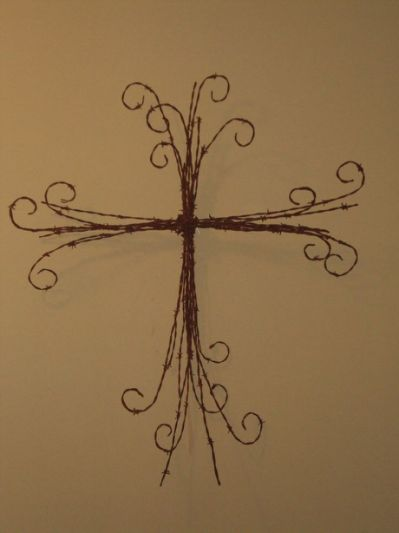 barb wire crafts