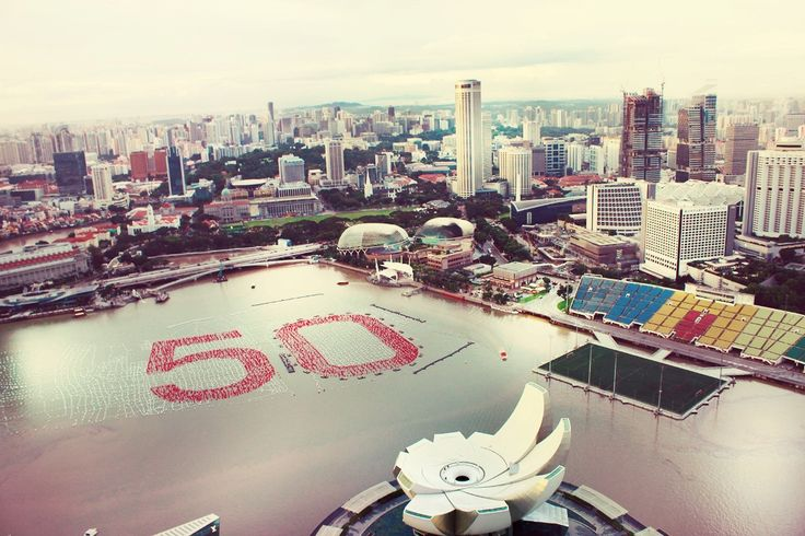 Singapore, View from Sky on 57