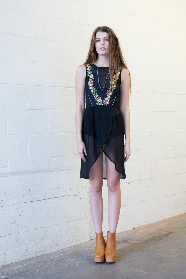 Brooke Tyson wild bill dress