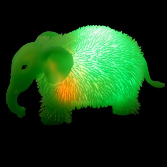 Animali Morbidi da Schiacciare con LED - Elefanti 2,5€