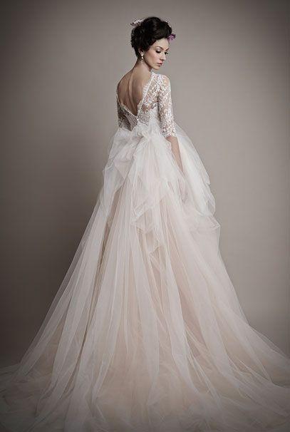 Ersa Atelier 2015 свадебные платья Amina