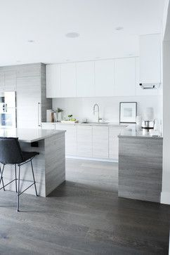 POINT GREY HOME contemporary kitchen