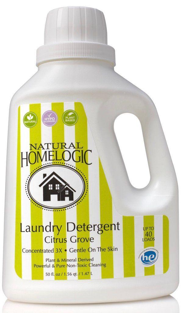 Natural Homelogic Laundry Detergent Citrus Grove Logic